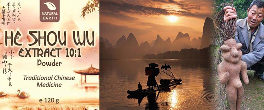 He Shou Wu Premium v prahu znamke Natural Earth